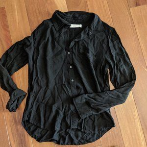 Black Button-Up Shirt from Abercrombie & Fitch